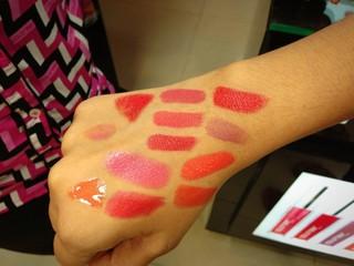 12 shades of pink