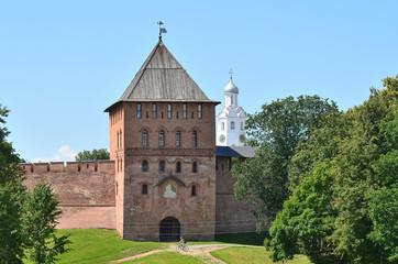 Владимирская башня Новгородского кремля