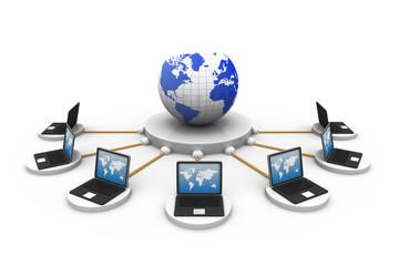 global computer network..
