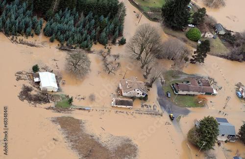 Leinwandbild Motiv Washington State Flood