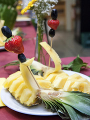 Wedding banquet - fruit detail