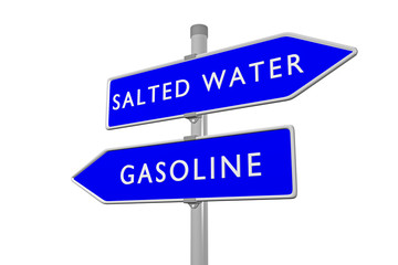 Salted Water vs Gasoline