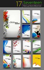 Mega Collection of Roll Up Banner Design
