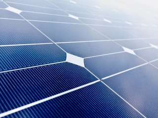 Solar cell battery panel background