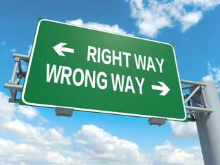 right way wrong wa