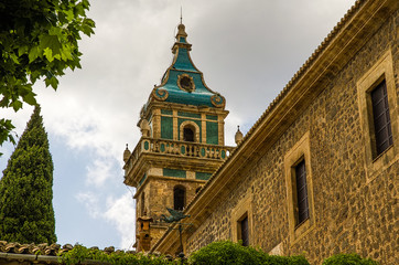 Valldemossa Charterhouse in Spain