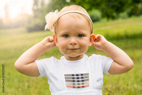 canvas print picture Child - Stock Image