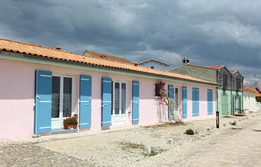 Village near La Rochelle, Charente Maritime, France