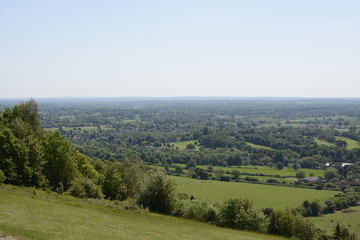 Surrey countryside near Dorking. England