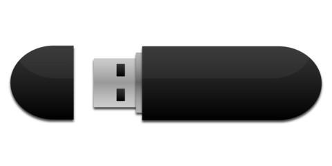 USB Stick schwarz