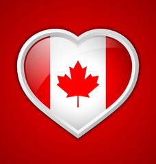 Canadian heart icon