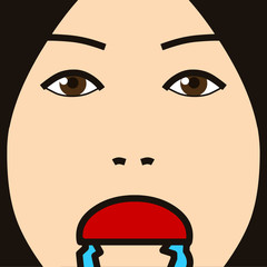 face cartoon expression 32 hungry face