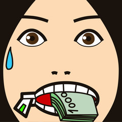 face cartoon expression 34 speak face