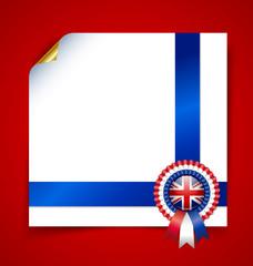 British document template