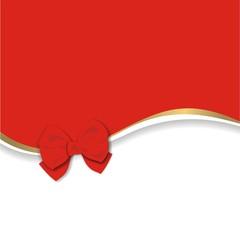 Hintergrund mit roter Schleife