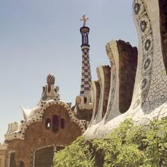 Guell Park, Barcelona, Spain