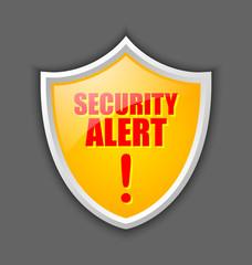 Security alert shield