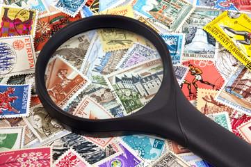 La collection de timbres