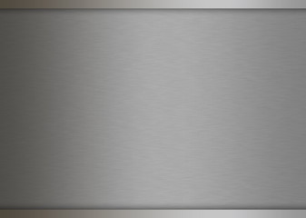 Metal texture background. brushed silver.