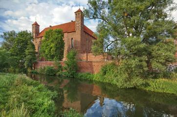 Castle in Lidzbark Warminski