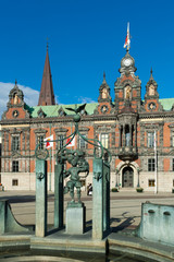 The beautiful Town Hall in Malmo, Sewden