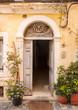 Obrazy na płótnie, fototapety, zdjęcia, fotoobrazy drukowane : traditional doorway,greece