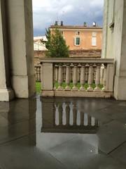 portico bagnato