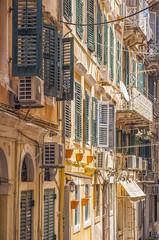 venetian buildings corfu town