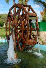 Rueda de molino, Torremolinos, parque