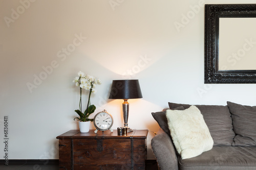 canvas print picture Beautiful Living room