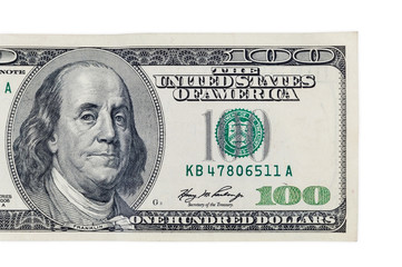 One hundred dollars banknote