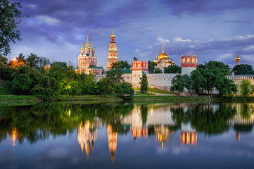 Twilight at the Novodevichy