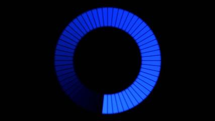 Rotating Ring, Loading Circle - Loop