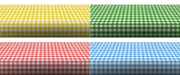 Tischdecken - 4 verschiedene Farbvarianten