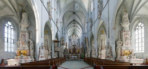 Schloss Salem Kirche Innen Panorama