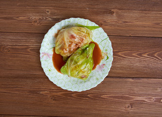 Stuffed Cabbage Tagine