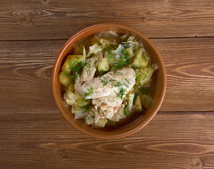 irish chicken stew