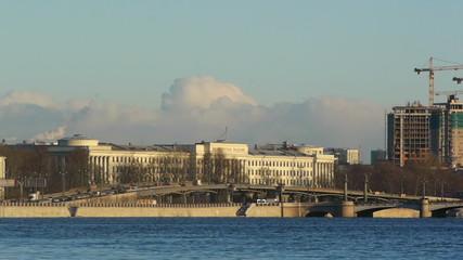Ushakovskaya Interchange and Ushakovsky Bridge