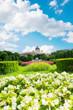 Volksgarten park at spring