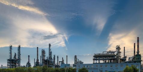 petrochemical plant  panorama