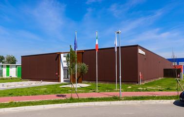 Biblioteca, moderna costruzione antisismica