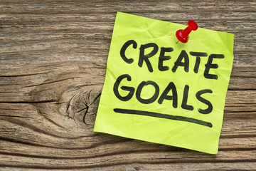 create goals reminder