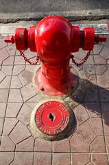 Fire hydrant in bangkok Thailand