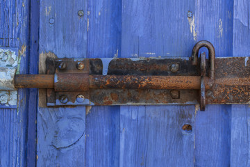 Shed door lock