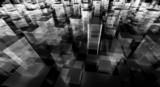 abstract blocks city - 68371251