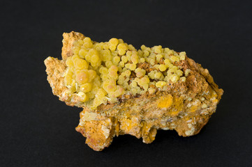 Mimetite from Mexico. 7.5cm across.