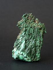 Malachite from the Democratic Republic of the Congo. 7cm high.