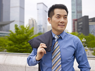 portrait of an asian business executive