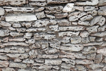 Ancient stone fortress wall, background photo texture