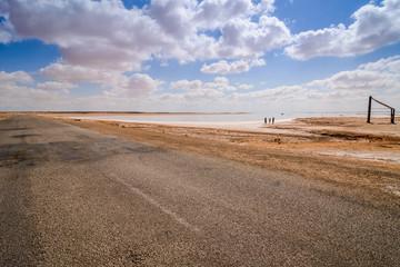 Salt lake Tunis